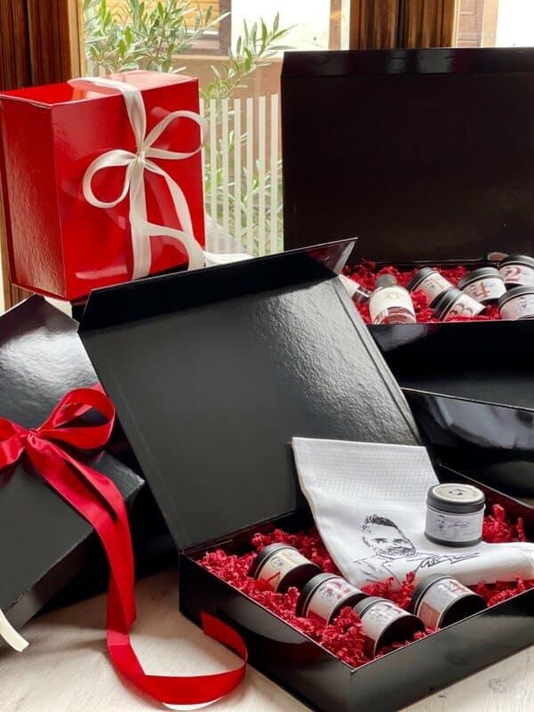 Geschenkebox schwarz - Luis Dias Onlineshop