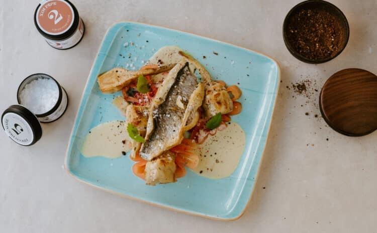 Rezept: Loup de mer (Wolfsbarsch) mit Tomaten und Artischocken