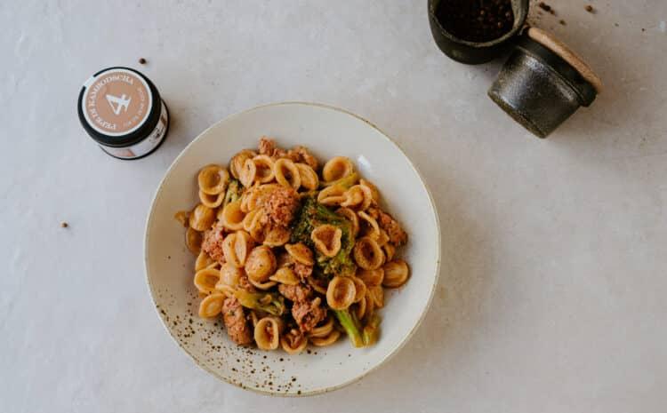 Rezept: Orecchiette mit Brokkoli und Salsiccia