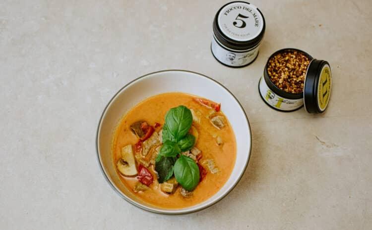 Rezept: Thai Suppe mit Hähnchenfleisch